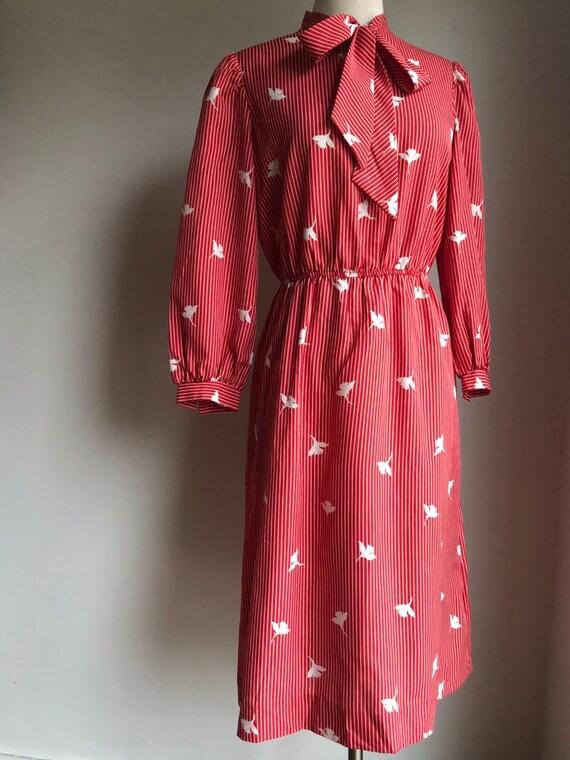 1980s dress - 1980s Lesley Fay dress - Vintage dre