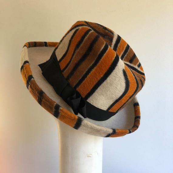 1970s Yves Saint Laurent hat - Vintage YSL hat - … - image 4