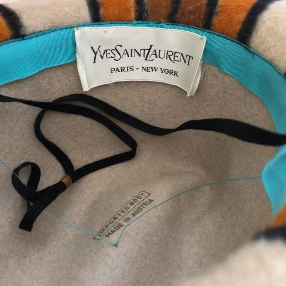 1970s Yves Saint Laurent hat - Vintage YSL hat - … - image 6