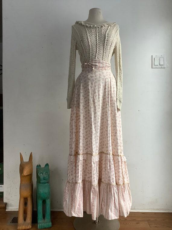 Jessica Gunnies maxi skirt - vintage maxi skirt -