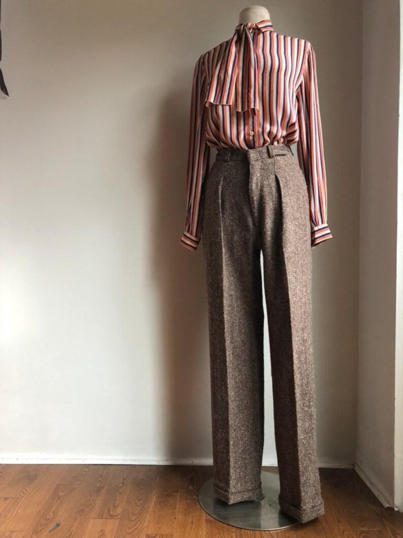c2d3472e59 Vintage YSL pants 1970s Yves Saint Laurent pants vintage | Etsy