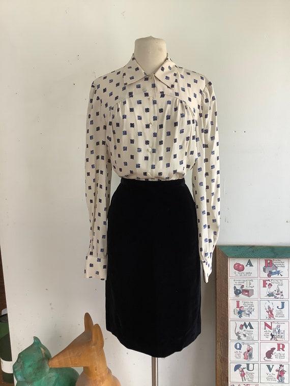Vintage Blouse - 1970s blouse