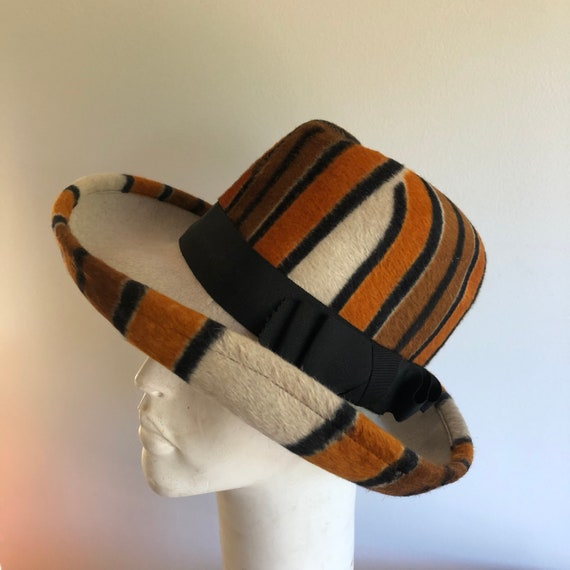 1970s Yves Saint Laurent hat - Vintage YSL hat - … - image 2