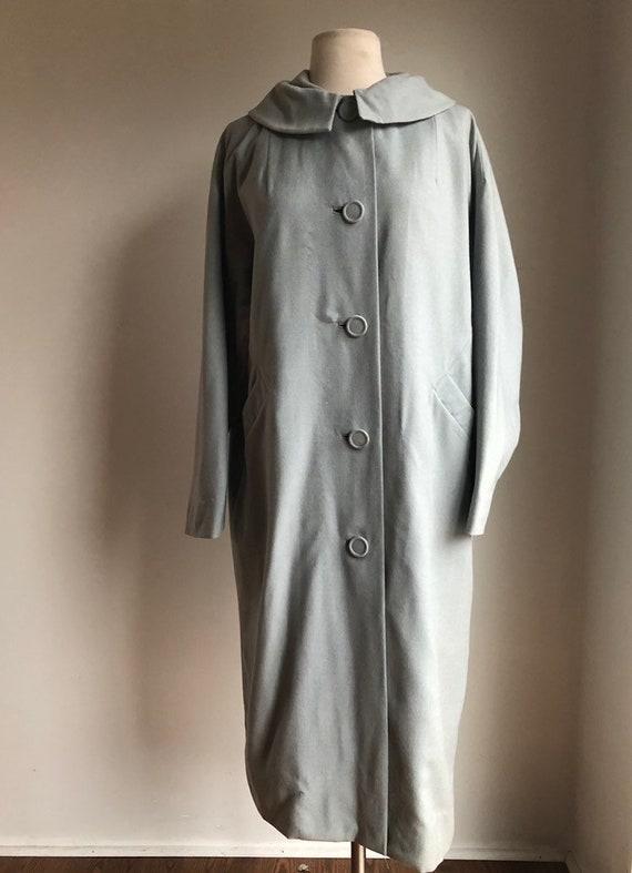 1960s light coat - 1960s women's coat - vintage wo