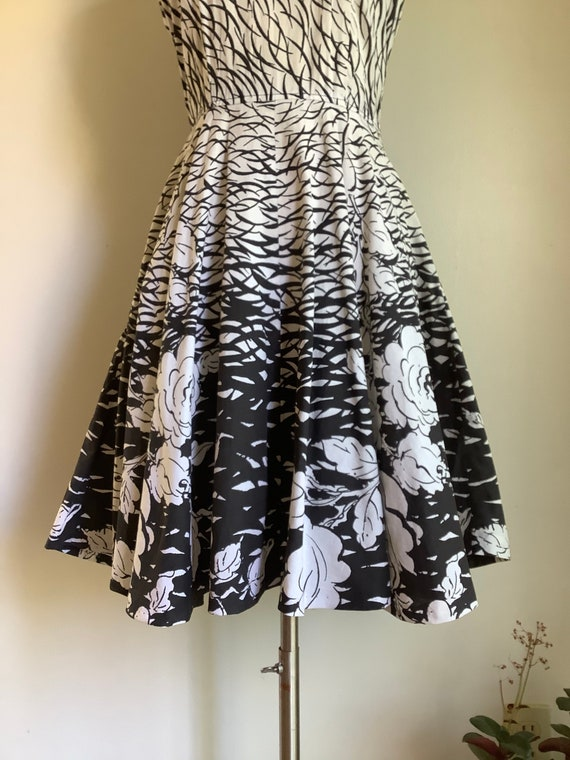 Vintage dress - 1950s dress - vintage cotton dres… - image 4