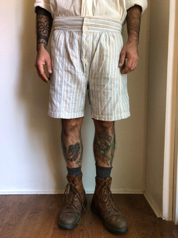 1920s shorts - 1920s cotton shorts - vintage short