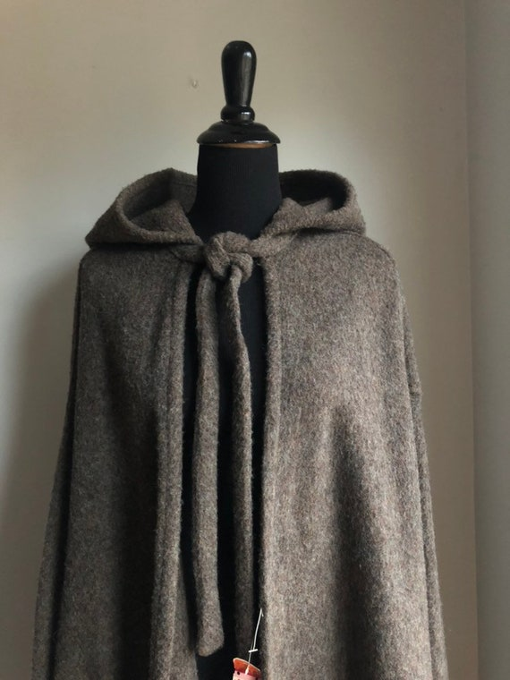 Vintage cape - wool cape - 1970s wool cape - 1970s