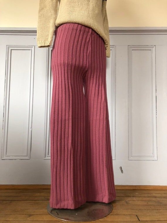 Vintage knit pants - Lord and Taylor - vintage pan