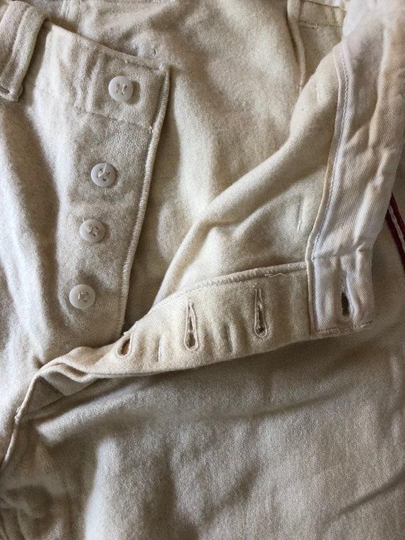 Vintage baseball pants - 1940s baseball pants - v… - image 6