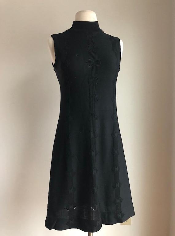 1960s black dress - vintage dress - vintage little
