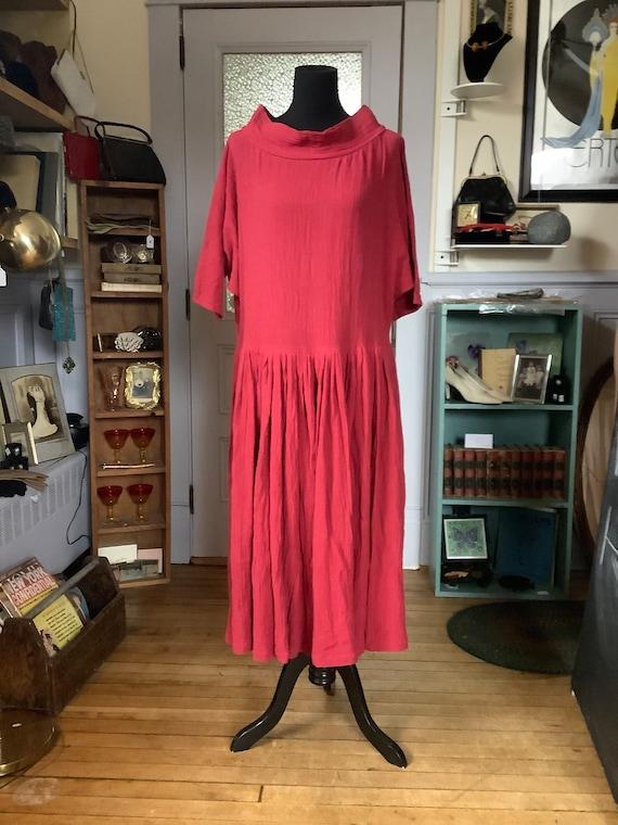 Norma Kamali maxi dress - vintage dress - vintage