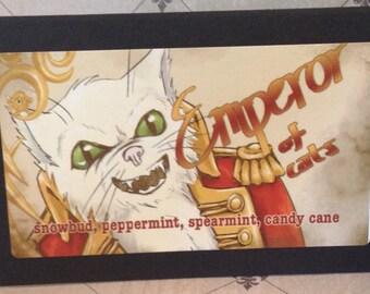 Emperor of Cats - Girl Genius sample size tea blend