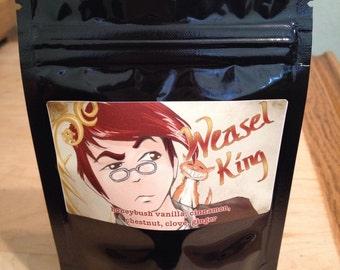 Weasel King - Girl Genius 1oz tea blend