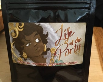 Life of the Party — Girl Genius licensed tea blend