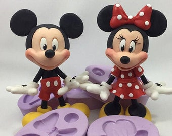 Mouse Silicone Combo Kit ( Mickey and Minnie Inspired)