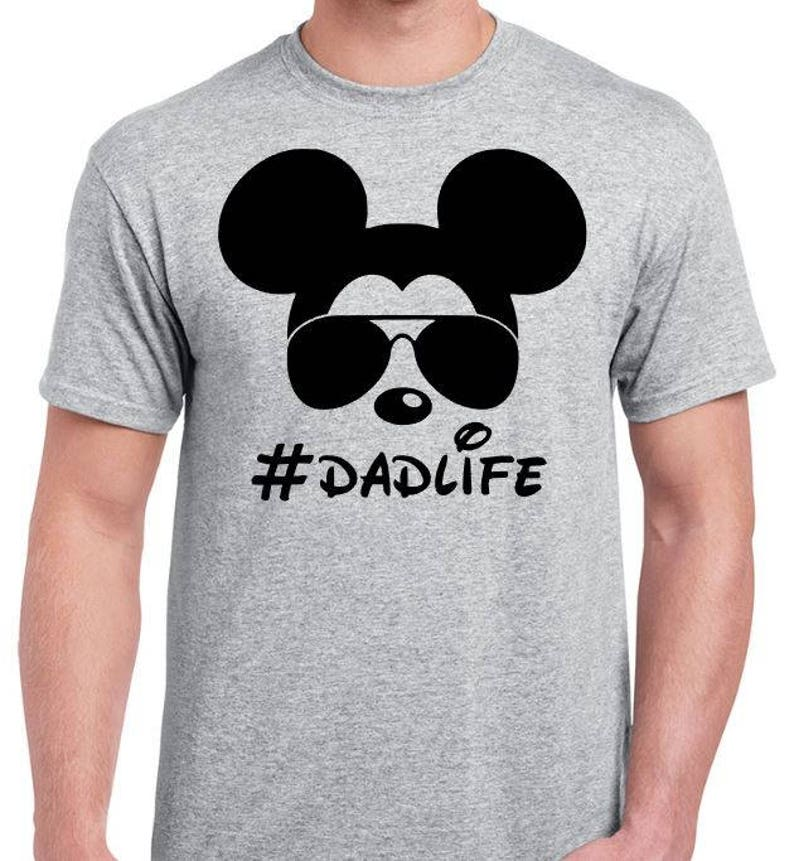 6480e002ce5f2 Dad Life - Mickey With Sunglasses - Funny Disney Dad - Funny Dad Shirt -  #Dadlife