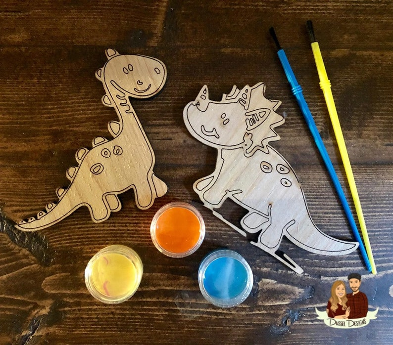DIY Kits Kids paint your own kits Paint your own magnets DIY Paint Kits Dinos Paint Your Own Kits Easter Gifts Dino Paint Kit
