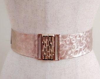 Gold pu leather belt, Golden leather belt, Women stretch belt, Wedding belt, Bridal gown belt, Dress belt, Bridal dress belt,Adjustable belt