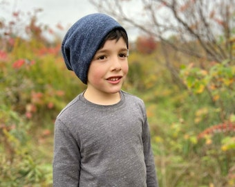 Fall winter collection- Slouch Beanie/ slouchy beanie/ navy hat/ navy blue hat/ navy adult beanie/ baby boy hat/ navy slouchy hat - Navy