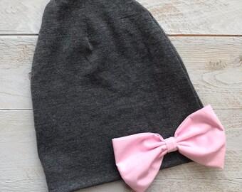 Slouch Beanie  grey slouchy hat c6f01eb2656