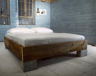 Handmade bed CUCURON