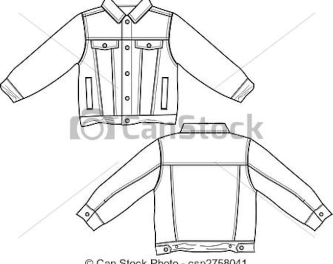 Create Your Own Custom Jacket. Various Styles To Suit You. Will It Be Punk, Cute, Geek, Chic, Vintage?