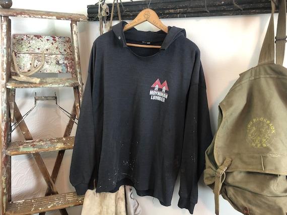 Thrashed lumber yard hoodie | destroyed workwear |