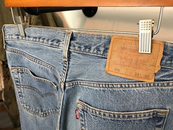 Distressed Levi's 501 | vintage 90s jeans | vinta… - image 9