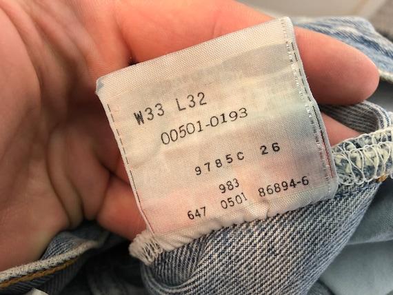 Distressed Levi's 501 | vintage 90s jeans | vinta… - image 5
