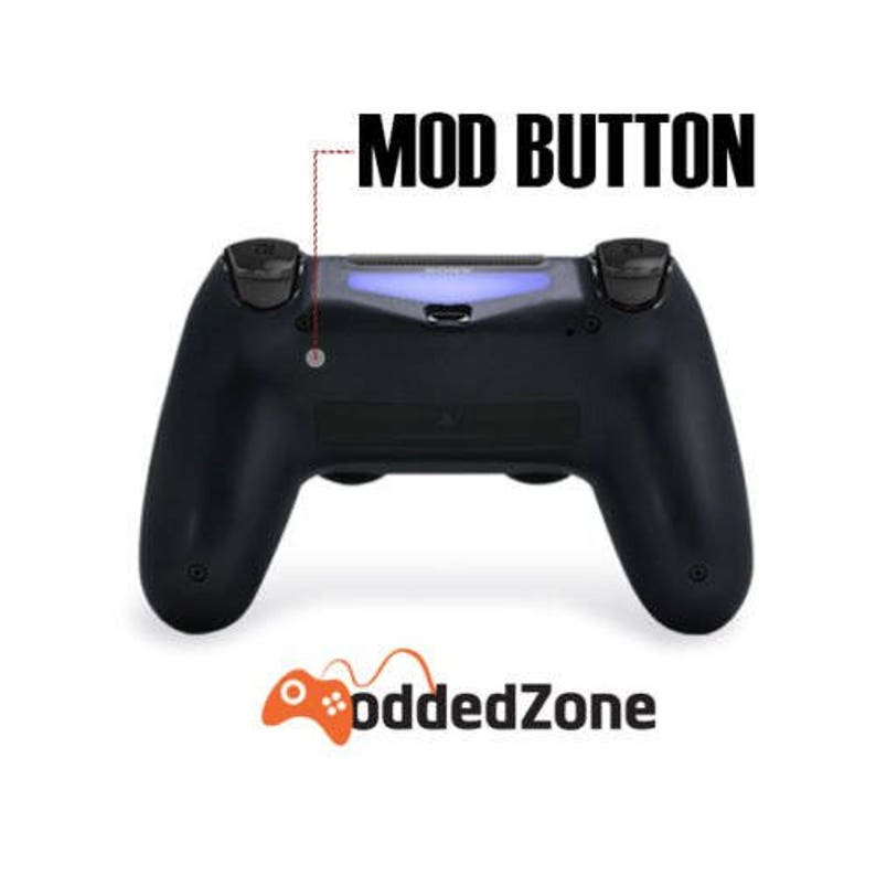 Sniper Breath /& More Soft Touch White Ps4 PRO Rapid Fire Custom Modded Controller 40 Mods for COD BO3 Destiny Quick Scope CUH-ZCT2U