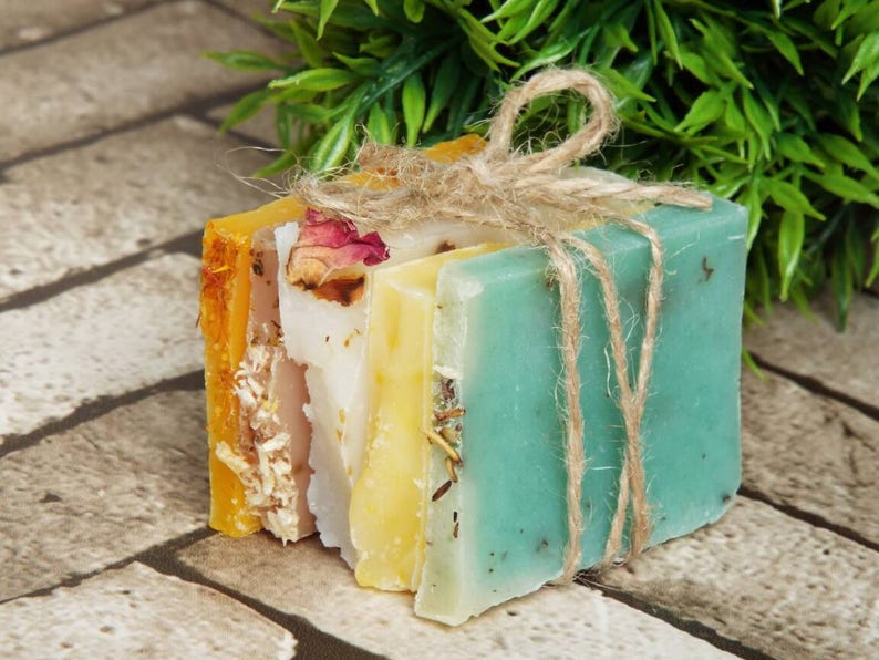 Soap samples gift for her mum gift girlfriend gift bath image 0