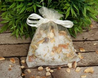 Bath tea, Valentine's gift, stocking fillers, bath gift for her, bath salts, Epsom salts, Orange & Rosemary bath tea