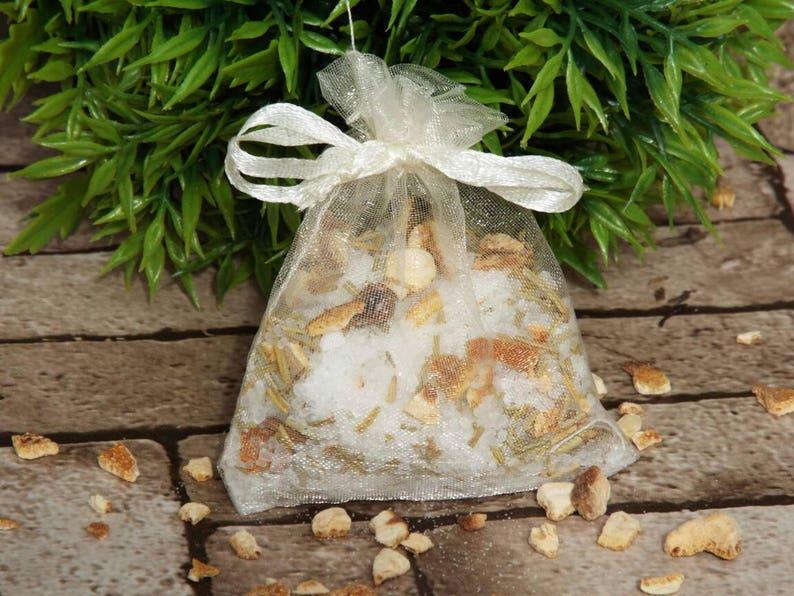 Bath tea bath gift for her bath salts Epsom salts Orange & image 0