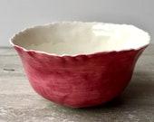 Ceramic bowl - Porcelain ...