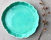 Ceramic plate - Porcelain...