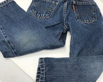 dee8b959bce Levi's orange tab jeans, 550 Levi's kids, kids size 5,youth denim ,Kids  Levi's, hippie