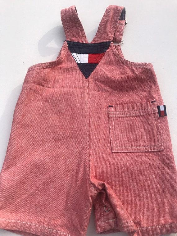 Vintage Tommy Hilfiger baby Infant Shortalls,Shor… - image 6