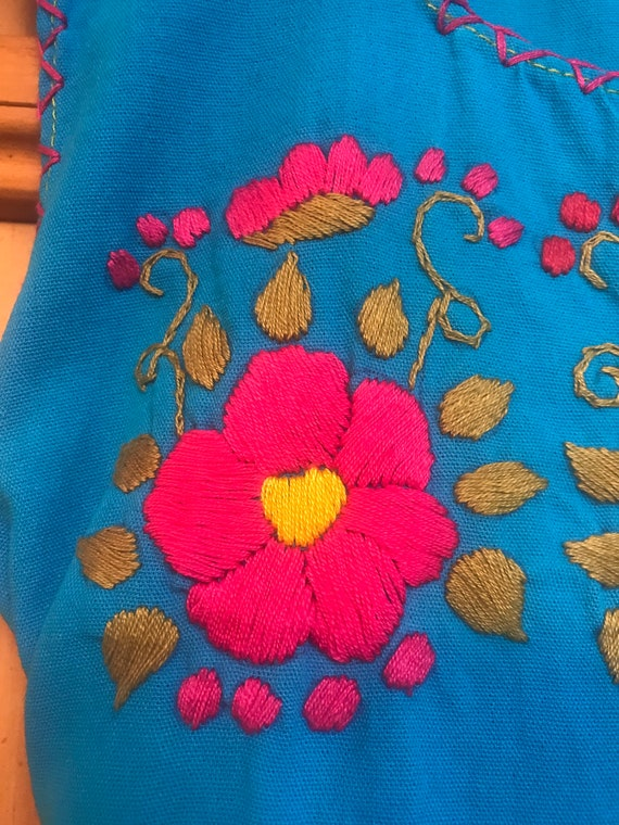 Girls Embroidered Handmade Dress,Embroidered Dres… - image 5