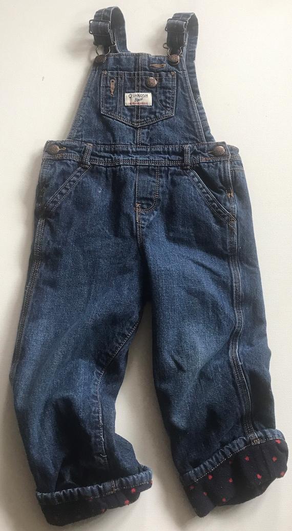 Oshkosh Toddler Denim Overalls,jean overalls,overa
