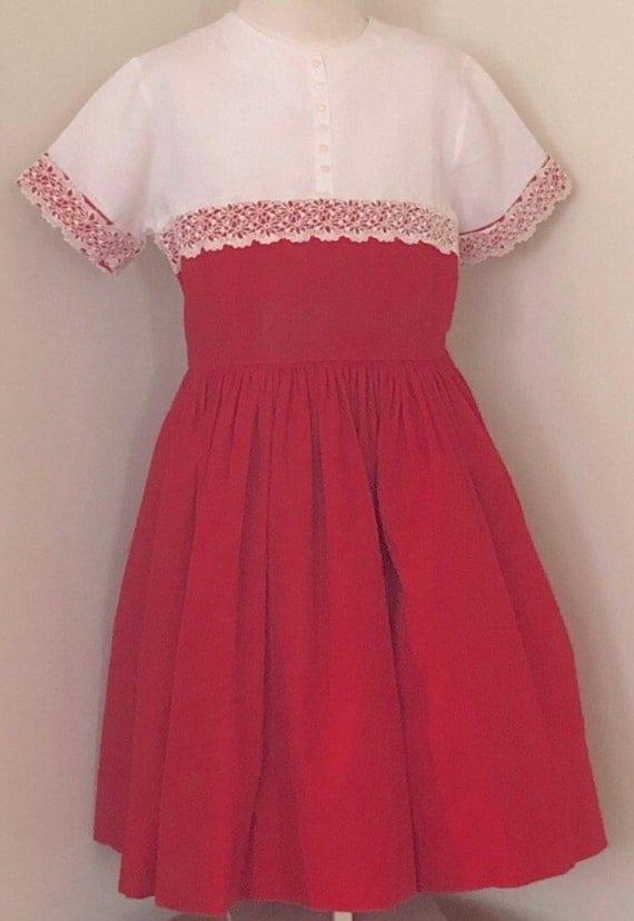 Vintage girls dress,vintage,girls dress,50s,60s,vi