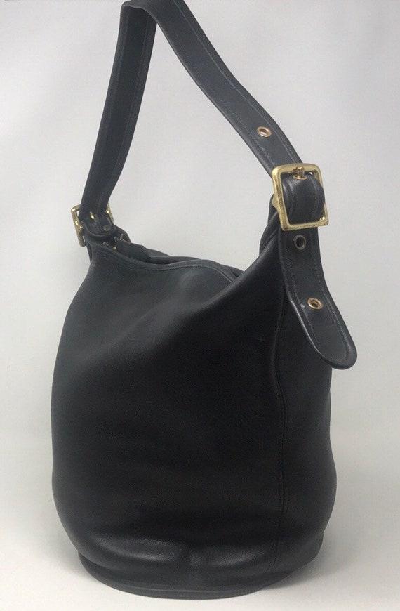 Vintage Coach Bucket Bag,Vintage Coach purse,Vinta