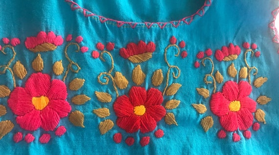 Girls Embroidered Handmade Dress,Embroidered Dres… - image 7