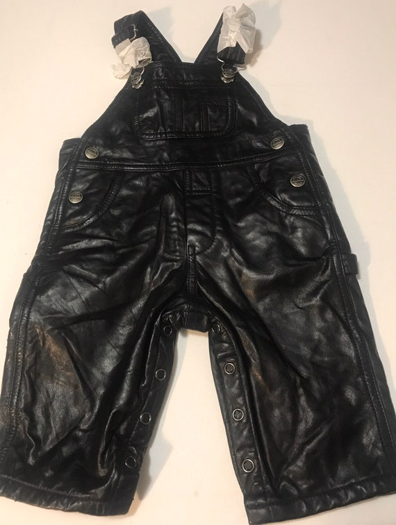 Vintage Wilson's Leather Overalls,Leather infant o
