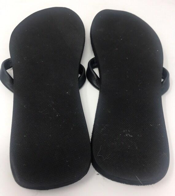 Beaded Leather Flip-flops Thong Sandal,Leather sa… - image 4