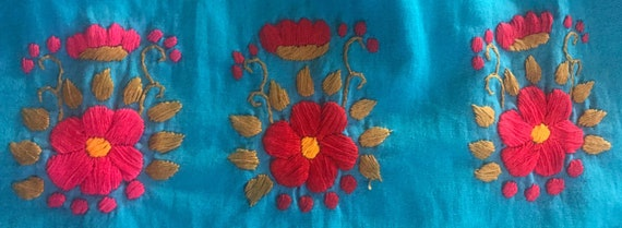 Girls Embroidered Handmade Dress,Embroidered Dres… - image 6