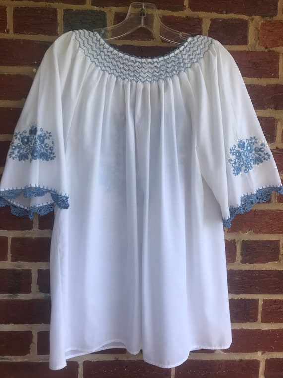 Hungarian Peasant Blouse,Hungarian blouse,hippie,… - image 6