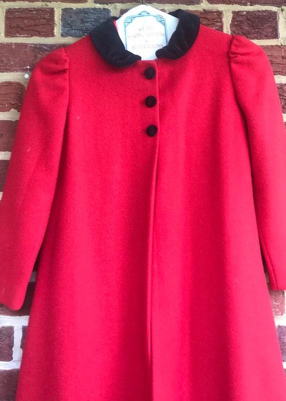 Vintage 1960s Girls maxi coat 1960s,vintage,vinta… - image 2