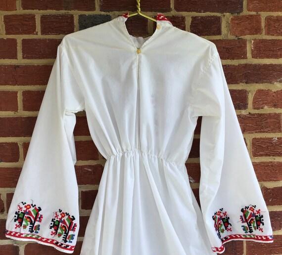 Embroidered Dress,vintage dress,vintage embroider… - image 7
