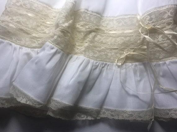Vintage Custom Victorian Style Dress & Bonnet,Han… - image 5