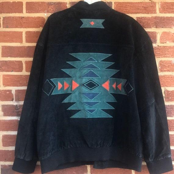 Vintage Leather Jacket,Southwestern leather jacket